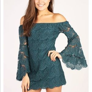 MinkPink taunted love lace dress